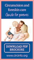 Download Circumcision and foreskin care - Guide for parents PDF brochure